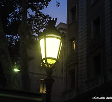 Barcelona - night by CJVisions