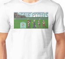 No Save Points Pixel Logo Unisex T-Shirt