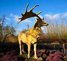 Giant Deer by DonDavisUK