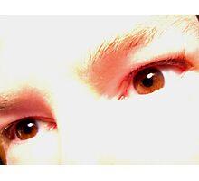 Auburn Eyes Photographic Print
