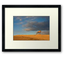 Come Take a Seat Framed Print