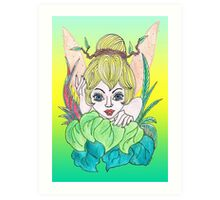 Feisty Fairy Tinkerbell Art Print