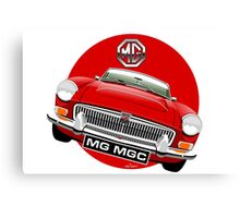 MGC Roadster red Canvas Print