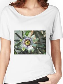 Passion Flower Close-up Women's Relaxed Fit T-Shirt