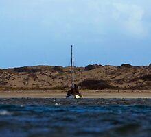 Sailing inland by Ersu Yuceturk