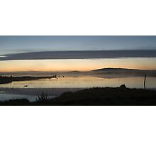 Sunset over Loch nam Magarian Photographic Print