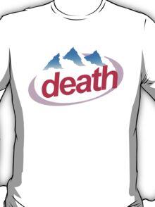 death evian cyberpunk vaporwave health goth T-Shirt
