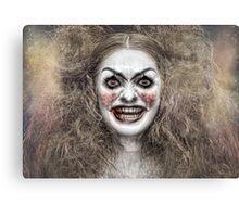 Psycho Circus 1 The Clown Canvas Print