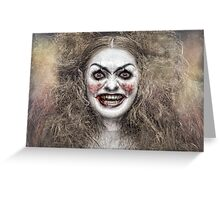 Psycho Circus 1 The Clown Greeting Card