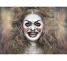 Psycho Circus 1 The Clown Photographic Print