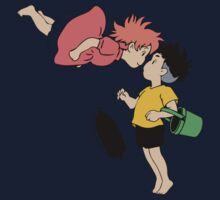 Ponyo on the Cliff by the Sea Kids Clothes