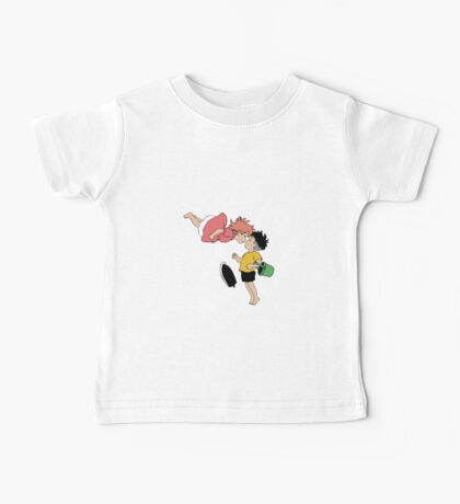 Ponyo on the Cliff by the Sea Baby Tee