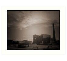 Demolition Desolation Art Print