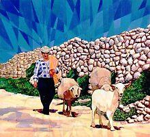 The shepherd by Joseph Barbara