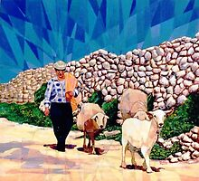 The shepherd by Joseph Barbara