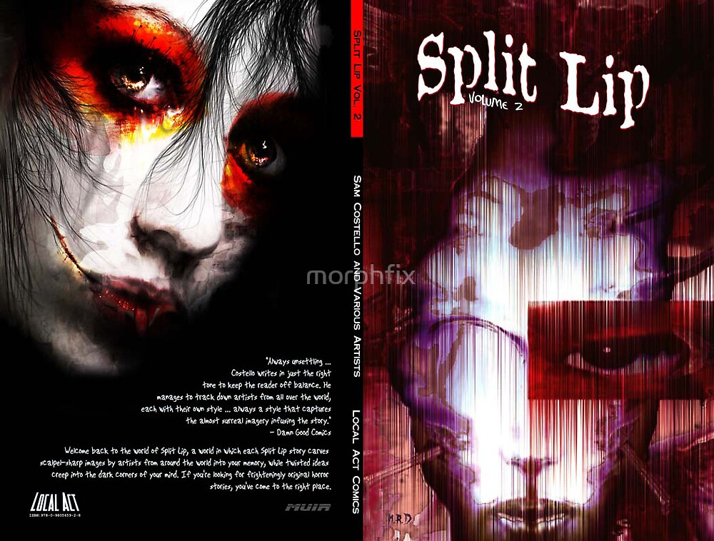 SPLIT LIP VOL II COVER FOR LOCAL ACT by morphfix