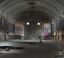 Hellingly Asylum - Urban Exploration by MidnightRunner