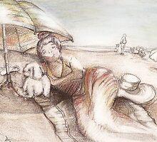 Beach Umbrella by Saruci