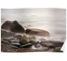Misty waters Poster