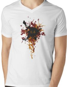 Vector Mens V-Neck T-Shirt