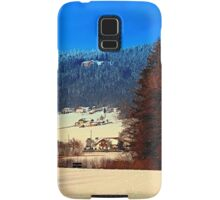 Bohemian forest winter scenery | landscape photography Samsung Galaxy Case/Skin