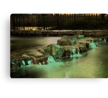 Waterfalls HDR Canvas Print