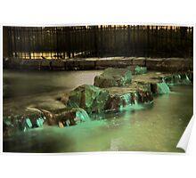 Waterfalls HDR Poster