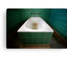 It's time for your bath. Canvas Print