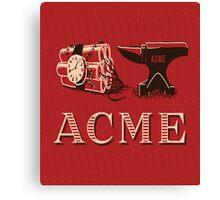 Classic ACME logo Canvas Print