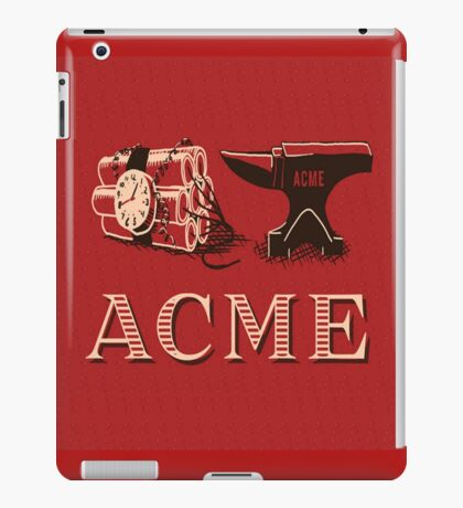 Classic ACME logo iPad Case/Skin