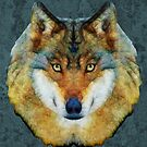 abstract wolf by Ancello