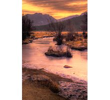 A New Years Sunrise Photographic Print