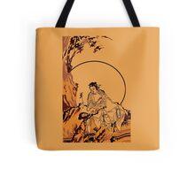 Rural Chinese Scene Tote Bag