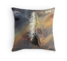 Spirit in the Sky Throw Pillow
