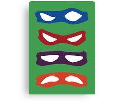 Mutants, Teenagers, Ninjas, Turtles Canvas Print
