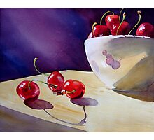 Life Is Just a Bowl of Cherries! Photographic Print