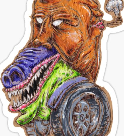 Monstertruck Sticker
