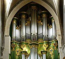 Green organ by bubblehex08