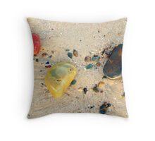 Beachcombing 4 Throw Pillow