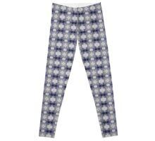 Punky Purple and Gray Pattern Leggings