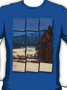 Bohemian forest winter scenery | landscape photography T-Shirt