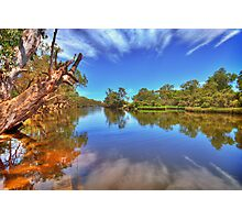 Swan River reflections Photographic Print