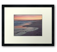 Sunset Old Bar 2 Framed Print
