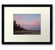 Sunset Old Bar 1 Framed Print