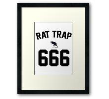 Rat Trap 666 Framed Print