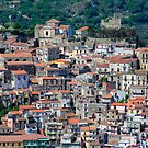 Sicilian village by Willy Vendeville