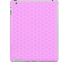Lavender and White Pastel Star Abstract Pattern iPad Case/Skin