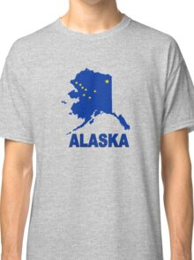 ALASKA STATE MAP Classic T-Shirt