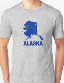 ALASKA STATE MAP Unisex T-Shirt