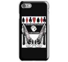♥♠♠♥ THE ROYAL FLUSH IPHONE CASE 2 BLK ♥♠♠♥ iPhone Case/Skin